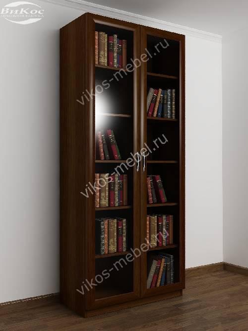 2-створчатый книжный шкаф цвета яблоня.