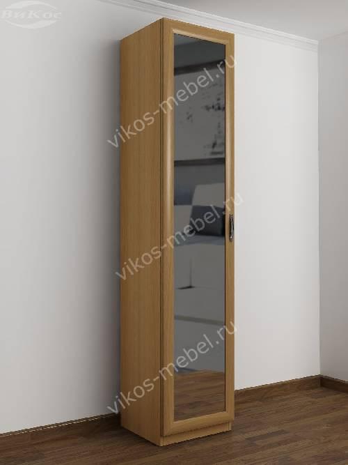 1-створчатый распашной шкаф в прихожую цвета бук
