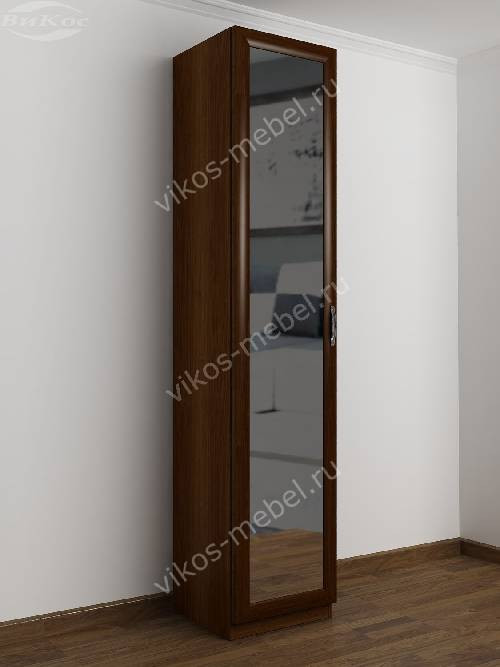 1-створчатый распашной шкаф в прихожую цвета яблоня