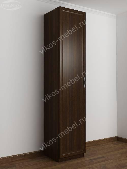 1-створчатый распашной шкаф в прихожую цвета венге