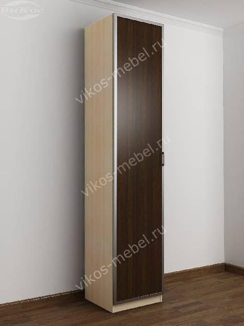 1-створчатый распашной шкаф в прихожую цвета беленый дуб - венге