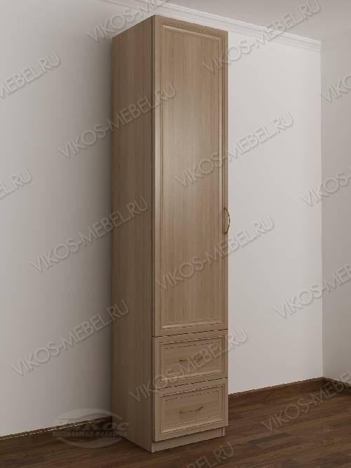 1-дверный шкаф в коридор цвета шимо светлый