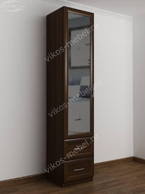 1-дверный шкаф в коридор цвета венге