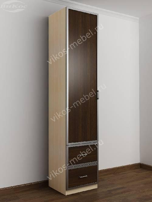 1-дверный шкаф в коридор цвета беленый дуб - венге