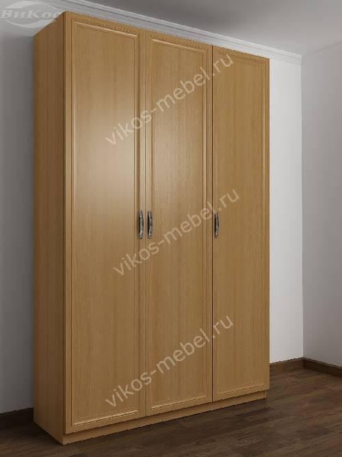 3-створчатый шкаф в спальню цвета бук
