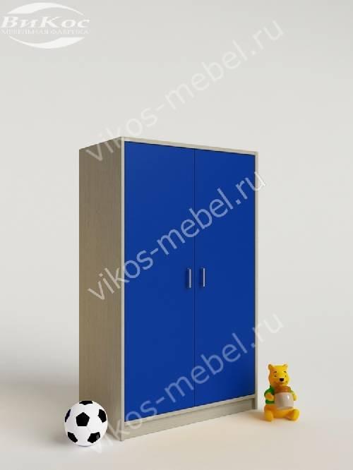 Мини детский шкаф для игрушек для парня синего цвета