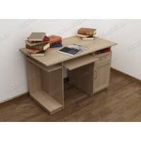 прямой стол компьютерный цвета шимо светлый