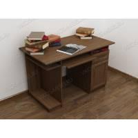 классический стол компьютерный цвета шимо темный