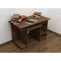 стол для компьютера с полками цвета шимо темный