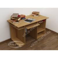 большой стол для компьютера цвета бук