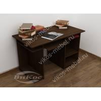 стол для компьютера с полками цвета венге