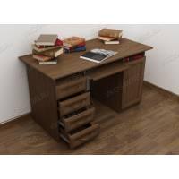 стол компьютерный с ящиками для мелочей в классическом стиле