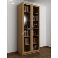 2-створчатый книжный шкаф цвета бук