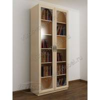 2-створчатый книжный шкаф с пескоструем