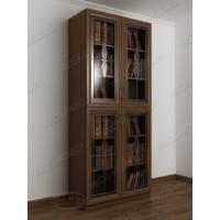 2-дверный шкаф для книг с витражом