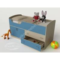 маленькая детская кровать чердак для мальчика