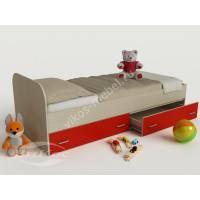 детская кровать с ящиками для девочки