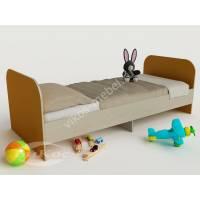 кровать для ребенка от 5 лет желтого цвета