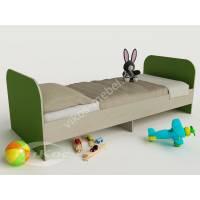 кровать для ребенка от 5 лет зеленого цвета