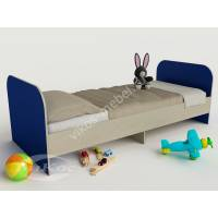 кровать для ребенка от 5 лет синего цвета