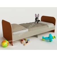 кровать для ребенка от 5 лет оранжевого цвета