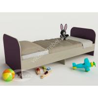 кровать для ребенка от 5 лет филетового цвета