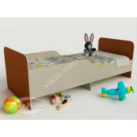 девчачая кровать для ребенка с защитными бортами