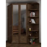 2-створчатый узкий шкаф угловой