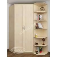 2-створчатый шкаф угловой с распашными дверями