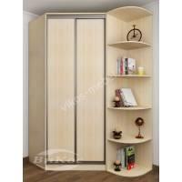 2-дверный угловой шкаф для одежды