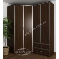 шкаф угловой для спальни цвета венге