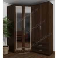 распашной шкаф угловой для спальни