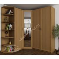 шкаф угловой для спальни шириной 160-180 см