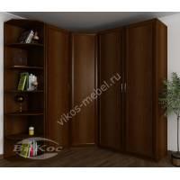 шкаф угловой шириной 160-180 см цвета яблоня