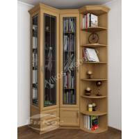 двухстворчатый шкаф угловой с распашными дверями