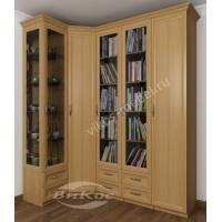 угловой шкаф угловой с распашными дверями