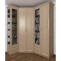 угловой шкаф для одежды в кабинет