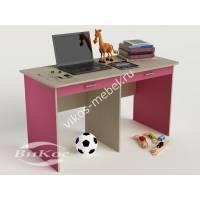 детский письменный стол с ящиками для мелочей для девочки