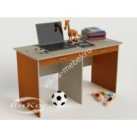 девчачий детский письменный стол оранжевого цвета