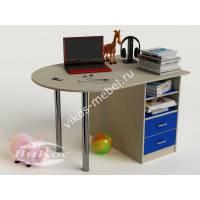 письменный стол в детскую с ящиками для мальчика
