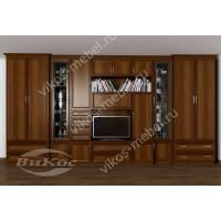 мебельная стенка классика в кабинет