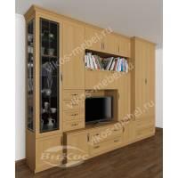 мебельная стенка классика в гостиную