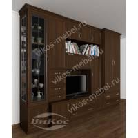 мебельная стенка в гостиную в классическом стиле