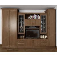 мебельная стенка в зал с вместительным шкафом