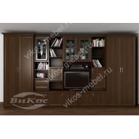 мебельная стенка классика цвета венге