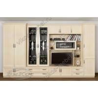 гостиная Новелла-12к с большим шкафом