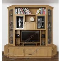 мебельная стенка под телевизор цвета бук