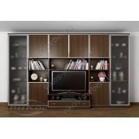 современная мебельная стенка под телевизор
