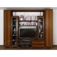 классическая мебельная стенка под телевизор