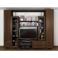 мебельная стенка под телевизор цвета венге